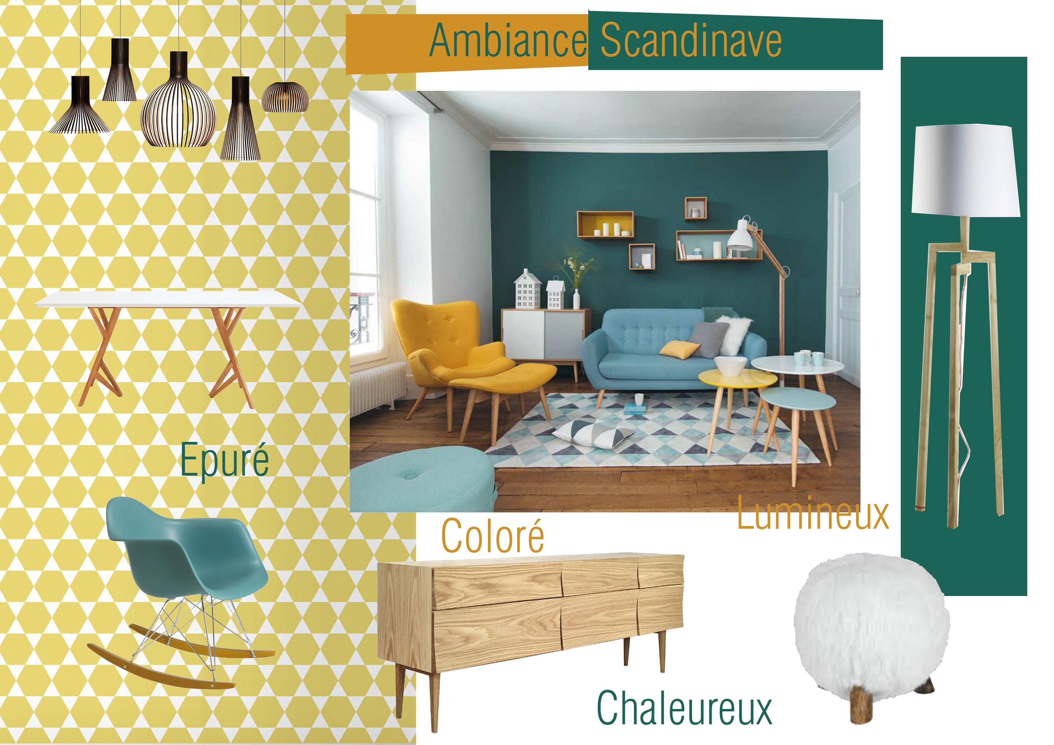 planche ambiance style scandinave sandra dangla. Black Bedroom Furniture Sets. Home Design Ideas