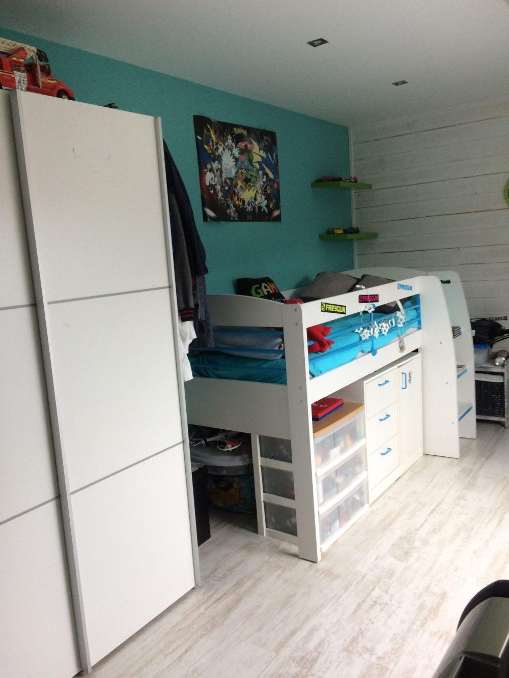 Décoration d\'intérieur chambre d\'adolescent Style industriel ...