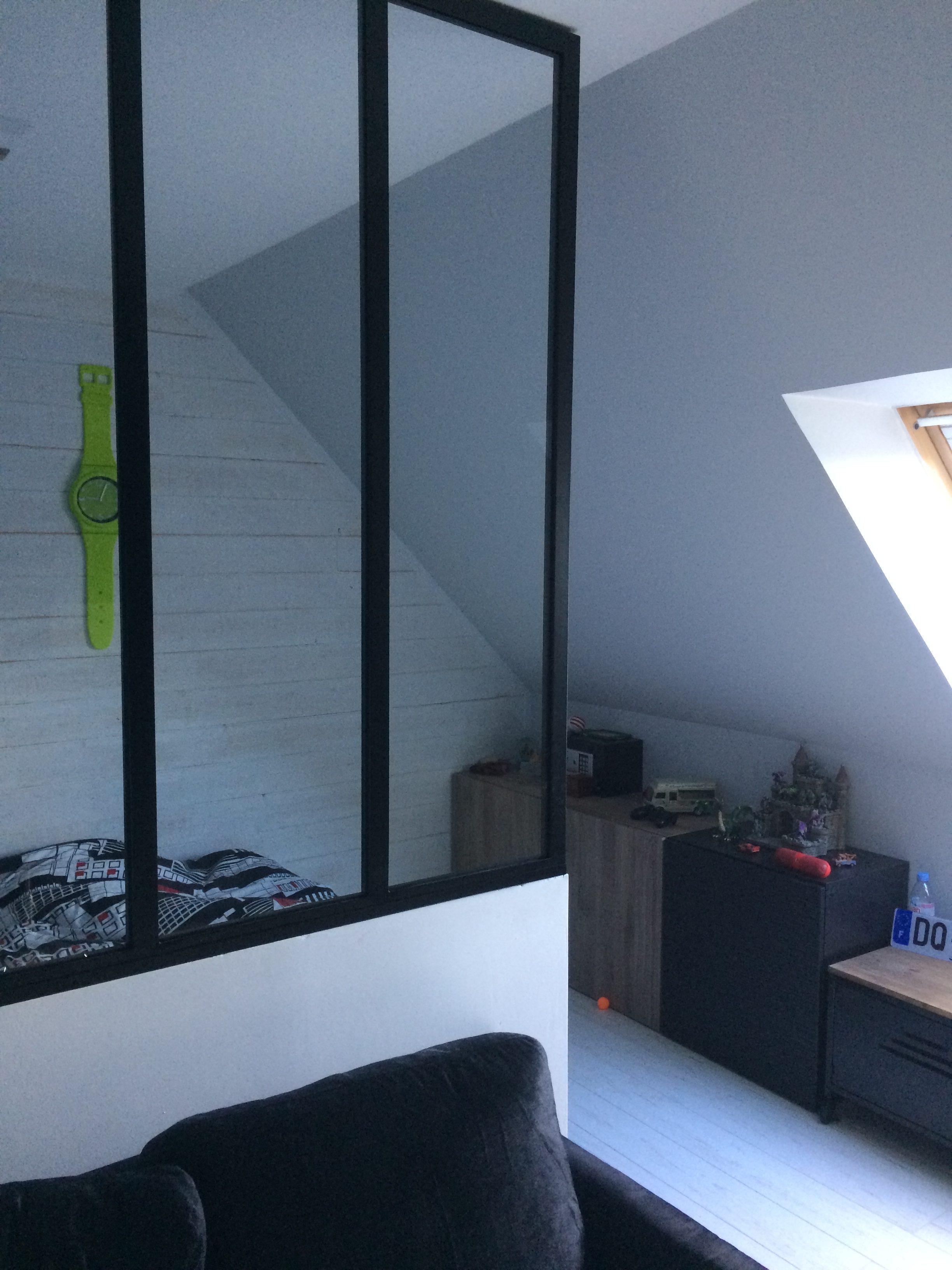 Décoration d'intérieur chambre d'adolescent Style industriel wimereux Boulogne sur mer