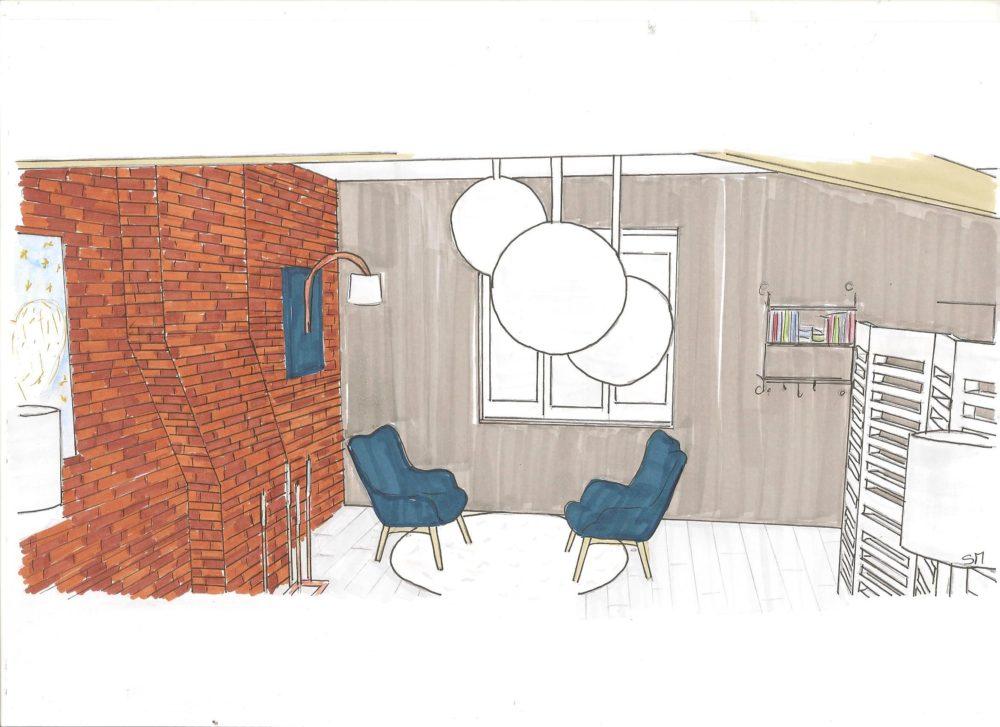 Rénovation intérieur & décoration de combles 3 D Haubourdin Hauts de France