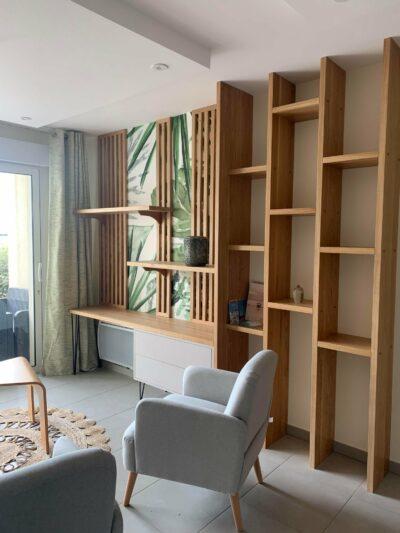 Architecture d'interieur & decoration appartement wimereux
